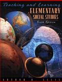 Teaching and Learning Elementary Social Studies, Ellis, Arthur K., 0205267637