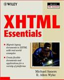 XHTML Essentials, Curt Robbins and Mike Fitzgerald, 0471417645