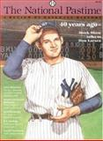 The National Pastime, Society for American Baseball Research (SABR), 0910137641