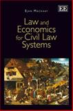 Law and Economics for Civil Law Systems, Mackaay, Ejan, 1783477644