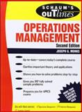Schaum's Outline of Operations Management, Monks, Joseph, 007042764X