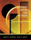 Research Design and Methods : A Process Approach, Bordens, Kenneth S. and Abbott, Bruce B., 0072887648