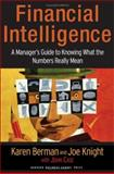 Financial Intelligence, Karen Berman and Joe Knight, 1591397642