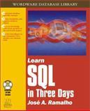 Learn SQL in Three Days, Jose Ramalho, 1556227655