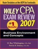 Wiley CPA Exam Review 2007 Business Environment and Concepts, Delaney, Patrick R. and Whittington, O. Ray, 0471797650