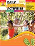 Daily Summer Activities, Moving from Kindergarten to First Grade, Evan-Moor, 1557997659