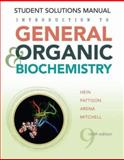 Introduction to General, Organic, and Biochemistry, Hein, Morris and Pattison, Scott, 0470247657
