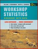 Workshop Statistics : Discovery with Data, Rossman, Allan J. and Chance, Beth L., 0470607653