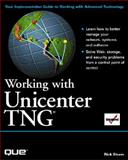 Working with Unicenter TNG, Sturum, Rick, 0789717654