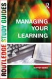 Managing Your Learning, Squires, Geoffrey, 0415237653