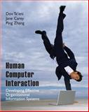Human Computer Interaction : Developing Effective Organizational Information Systems, Zhang, Ping, 0471677655