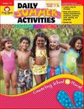 Daily Summer Activities, Moving from First to Second Grade, Evan-Moor, 1557997667