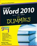 Word 2010 All-in-One for Dummies, Doug Lowe, 0470487666