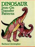 Dinosaur Iron-On Transfer Patterns, Barbara Christopher, 0486257665