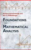 Foundations of Mathematical Analysis, Johnsonbaugh, Richard and Pfaffenberger, W. E., 0486477665
