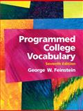 Programmed College Vocabulary, Feinstein, George W., 0131487663