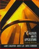 Calculus and Its Applications, Goldstein, Larry J. and Lay, David C., 0130797669