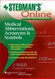 Stedman's Medical Abbreviations Online, Stedman's, 1451127669