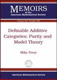 Definable Additive Categories, Mike Prest, 0821847678
