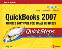 QuickBooks 2007 QuickSteps, Cindy Fox, 0071487670