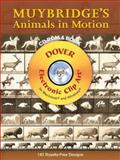 Muybridge's Animals in Motion CD-ROM and Book, Eadweard Muybridge, 0486997677