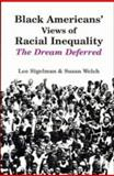 Black Americans' Views of Racial Inequality 9780521457675