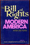 The Bill of Rights in Modern America : After 200 Years, , 0253207673