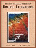 The Longman Anthology of British Literature : The Twentieth Century, Damrosch, David, 0321067673