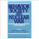 Behavior, Society, and Nuclear War 9780195057683