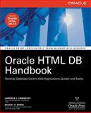 Oracle HTML DB Handbook, Brown, Bradley D. and Linnemeyer, Lawrence C., 0072257687