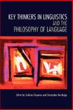 Key Thinkers in Linguistics and the Philosophy of Language, , 0195187687