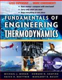 Fundamentals of Engineering Thermodynamics, Boettner, Daisie D. and Moran, Michael J., 0470917687
