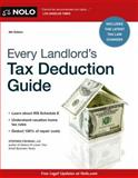 Every Landlord's Tax Deduction Guide, J.D., Stephen Fishman, 1413317685