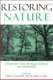 Restoring Nature : Perspectives from the Social Sciences and Humanities, , 1559637684