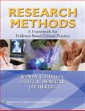 Research Methods : A Framework for Evidence-Based Clinical Practice, Hurley, Wendy L. and Hertel, Jay, 0781797683