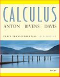 Calculus : Early Transcendentals, Anton, Howard and Bivens, Irl C., 0470647698
