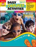 Daily Summer Activities, Moving from Fourth to Fifth Grade, Evan-Moor, 1557997691