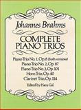 Complete Piano Trios, Johannes Brahms, 048625769X
