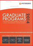 Graduate Programs in the Physical Sciences, Mathematics, Agricultural Sciences, the Environment and Natural Resources 2014 (Grad 4), Peterson's, 0768937701