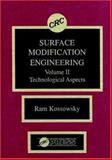 Surface Modeling Engineering, Ram Kossowsky, 084934770X