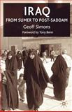 Iraq : From Sumer to Saddam, Simons, Geoff, 1403917701