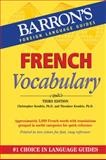 French Vocabulary, Christopher Kendris and Theodroe Kendris, 0764147706