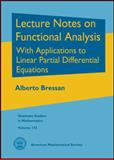 Lecture Notes on Functional Analysis, Alberto Bressan, 0821887718
