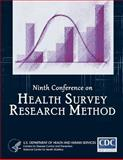 Ninth Conference on Health Survey Research Methods, Centers for Disease Control and Prevention, 1494237717