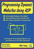 Programming Dynamic Websites Using ASP, Mike Young, 0955987717