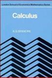Calculus, Binmore, K. G., 0521247713