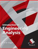 Introduction to Engineering Analysis, Hagen, Kirk D., 013601772X