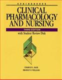 Clinical Pharmacology and Nursing, Baer, Harold L. and Williams, Bradley R., 0874347726