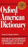 Oxford American Dictionary, Eugene Ehrlich, Stuart Berg Flexner, Gorton Carruth, Joyce M. Hawkins, 0380607727