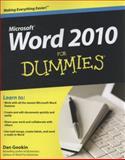 Word 2010 for Dummies, Dan Gookin, 0470487720